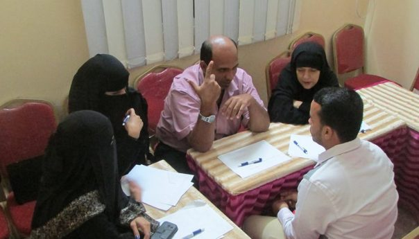جمعية وديان لتنمية المجتمع تبدا بإعداد الخطة السنوية للعام القادم 2016م